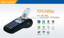 POS Terminal TPS300a hot sale Bank card Internet bill payment POS