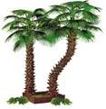 Más realista top ventas de decoración artificial de los árboles exterior para jardín y paisajismo con un precio razonable palmeras