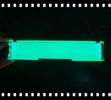 green emitting side backlit,made in China with SGS report