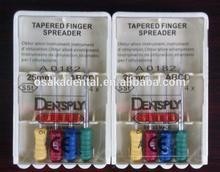 Dental Dentsply Tapered finger spreader with CE/dental instrument/dental rotary files