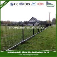 Welded wire mesh fence panel/flexible garden fence