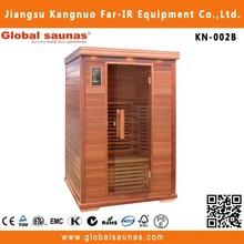 2 person infrared aqualine saunas