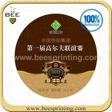 De color personalizado etiqueta de papel, etiqueta de papel de impresión de papel, etiqueta de la etiqueta de papel