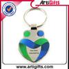 Jump rings + Split ring promotional keychain magnet