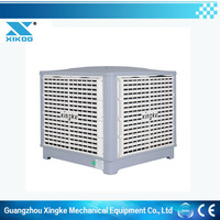 Eco-friendly exhaust cooling fan/special dive water circulating pump/ducting system evaporative air cooler