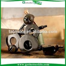 Getbetterlife 2014 Handmade High Quality Iron 8Wraps Liner Machine Gun Tattoos