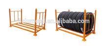 Heavy duty rack de almacenamiento de neumático, Neumático del metal del estante, Estante de la plataforma