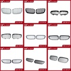 Auto accessories in chrome silver black style for BMW car front grille