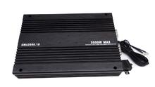 3000w 1 channel 12v dc audio class d sound digital car amplifier