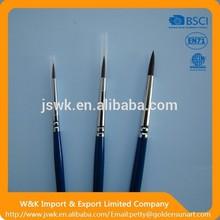 "trustworthy china supplier natural bristle paint brush 4"""