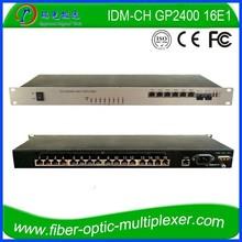 PDH Equipment 4FE 2GE 16E1 over Fiber Converter
