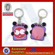 Custom Rubber Keychain , Silicone Key Chain , Soft PVC KeyRing