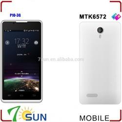 P10 4.5 Inch Smartphone Android 4.2 MTK6572 Dual Core 4G ROM Unlocked mtk smart phone
