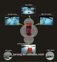 360 degree bird eye taxi security camera system