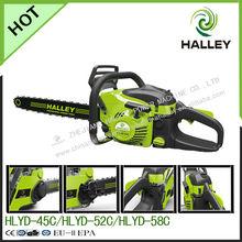 Halley brand 2 stroke gasoline power 4500 gasoline saw with high quality