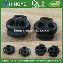 Black Colour Plastic Stopper for Suit --- SP1412012