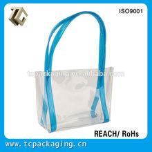 TC14078 OEM design Fashion clear plastic handbags