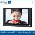 Feuerstein 7-zoll-led tv monitor, präsentationssysteme für den einzelhandel bildschirme, 7-zoll-tablet mit usb-anschluss