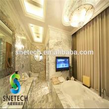 wholesale bathroom marble feeect art glass