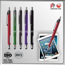 2015 promotional aluminium touch anodized pens