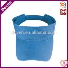 sky blue knitted men's caps with visor