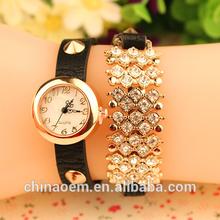 2015 new model Luxury Fashion lady dress watch Famous Brand full diamond Jewelry Women watch High Quality