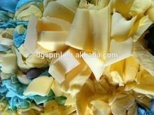 high quality pu foam scrap/waste foam scrap/polyurethane foam scrap