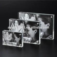 Clear acrylic good photo frame
