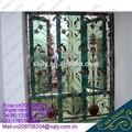 Hierro parrilla winodw precios/ventana de hierro forjado barandilla/ventana de hierro de color de la parrilla