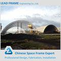 Pré-fabricados de construção isolada telhado curvo para estruturas de aço galpão de armazenamento