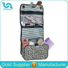 Fashion Leopard Travel Toiletry Kit Hotel Toiletry Kit With Detachable Organizer