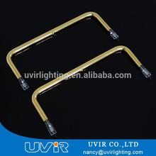 U shape quartz carbon fiber heating pipe with CE