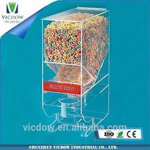 popular small fruit candy tin box