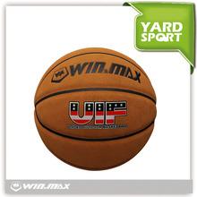 CHINA professional PU genuine leather basketball