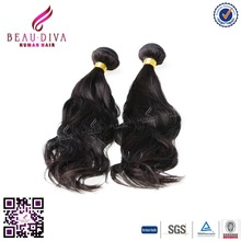 Very soft 6A Beau diva hair Indian raw unprocessed virgin hair natural wave cheap 100% Indian remy hair tangle free for sale