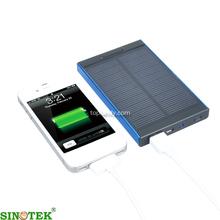 SINOTEK baterias solares para celulares 5000mAh mini solar cell power banks