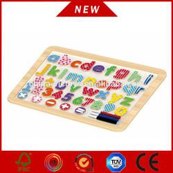 wooden magnet whiteboard for kids, new educational wooden whiteboard for kids