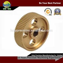 Good performance cnc brass gear, metal gear parts