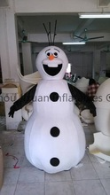 snowman costume for kids and adults to celebrate