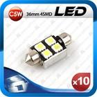 T10 high power c5w Led smd Festoon tuning light