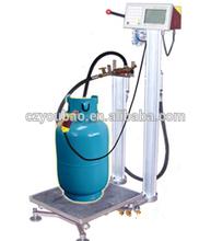 LPG bottle weighing filler
