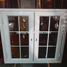Popular european style double casement sash window