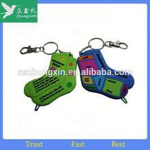 Despicable menial Keychains Soft Plastic key ,pvc cartoon keychain