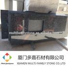 Steel grey prefab granite kitchen countertop