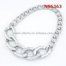 Hot new products for 2015 silver chain necklace jewelry design necklace 2015