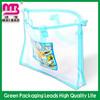 environmental friendly pvc plastic zipper pencil case