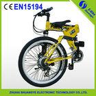 "2015 factory new 26"" 36V folding mountain electric dirt bike for kids"