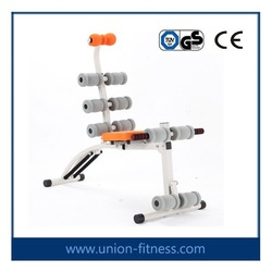 AB roller Abdominal Trainer/body building gym equip