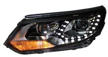 2014 New products 2014 car led head light high/low beam 36w led headlight For Volkswagen Tiguan LED Head Lamp Angel Eyes