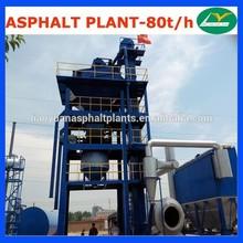 LB1000 Mini Asphalt Mixing Plant 80TPH